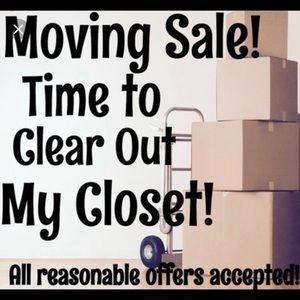 Closet clean out!